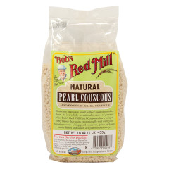 BOB'S RED MILL NATURAL PEARL COUSCOUS 16 OZ BAG