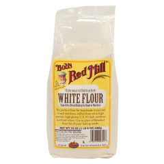 BOB'S RED MILL UNBLEACHED WHITE FLOUR 48 OZ BAG