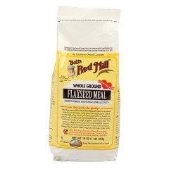 BOB'S RED MILL WHOLE GROUND FLAXSEED MEAL 16 OZ BAG