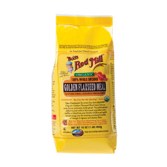 BOB'S RED MILL ORGANIC GOLDEN FLAXSEED MEAL 16 OZ BAG
