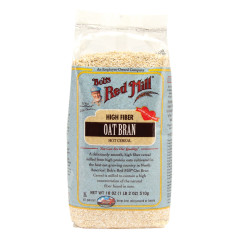 BOB'S RED MILL OAT BRAN CEREAL 18 OZ BAG
