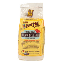 BOB'S RED MILL BROWN RICE FLOUR 24 OZ BAG