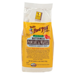 BOB'S RED MILL BUTTERMILK PANCAKE & WAFFLE MIX 26 OZ BAG