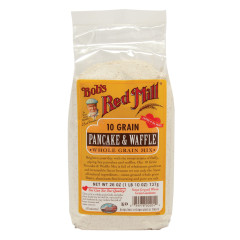 BOB'S RED MILL 10 GRAN PANCAKE & WAFFLE MIX 26 OZ BAG