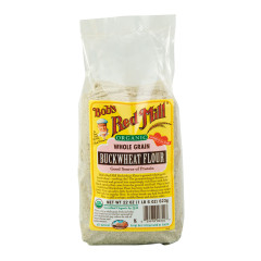 BOB'S RED MILL ORGANIC BUCKWHEAT FLOUR 22 OZ BAG