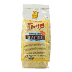 BOB'S RED MILL BROWN RICE FARINA CREAMY RICE HOT CEREAL 26 OZ BAG