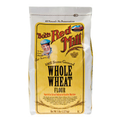 BOB'S RED MILL WHOLE WHEAT FLOUR 5 LB BAG