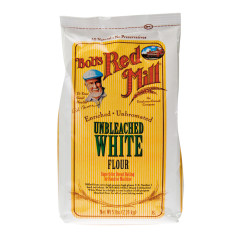 BOB'S RED MILL UNBLEACHED WHITE FLOUR 5 LB BAG