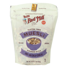 BOB'S RED MILL GLUTEN FREE MUESLI 16 OZ BAG