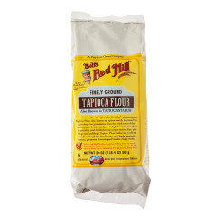 BOB'S RED MILL FINELY GROUND TAPIOCA FLOUR 20 OZ BAG