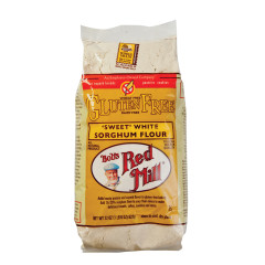 BOB'S RED MILL GLUTEN FREE SWEET WHITE SORGHUM FLOUR 22 OZ BAG