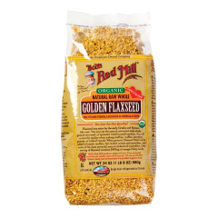 BOB'S RED MILL ORGANIC GOLDEN FLAXSEED 24 OZ BAG