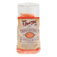 BOB'S RED MILL RED LENTIL BEANS 27 OZ BAG