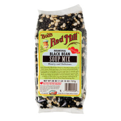 BOB'S RED MILL BLACK BEAN SOUP MIX 26 OZ BAG