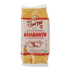 BOB'S RED MILL ORGANIC WHOLE GRAIN AMARANTH 24 OZ BAG