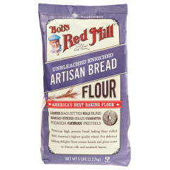 BOB'S RED MILL ARTISAN BREAD FLOUR 5 LB BAG