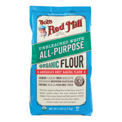 BOB'S RED MILL ORGANIC ALL-PURPOSE FLOUR 5 LB BAG