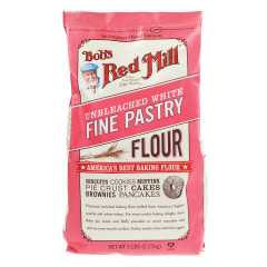 BOB'S RED MILL WHITE FINE PASTRY FLOUR 5 LB BAG