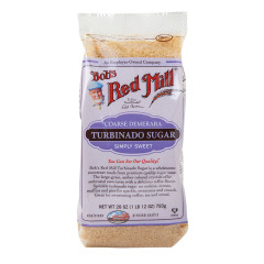 BOB'S RED MILL TURBINADO SUGAR 28 OZ BAG