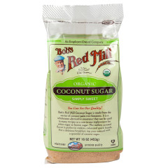 BOB'S RED MILL ORGANIC COCONUT SUGAR 16 OZ BAG