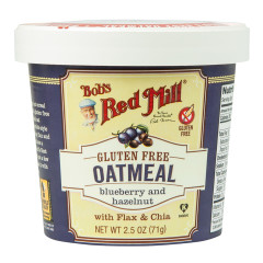 BOB'S RED MILL BLUEBERRY & HAZELNUT GLUTEN FREE OATMEAL 2.5 OZ