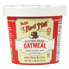 BOB'S RED MILL APPLE AND CINNAMON GLUTEN FREE OATMEAL 2.36 OZ