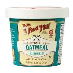 BOB'S RED MILL CLASSIC GLUTEN FREE OATMEAL 1.81 OZ