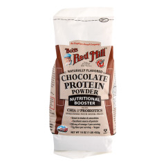BOB'S RED MILL CHOCOLATE PROTEIN POWDER 16 OZ BAG