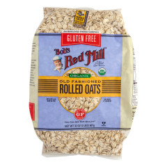 BOB'S RED MILL ORGANIC GLUTEN FREE OLD FASHIONED ROLLED OATS 32 OZ BAG