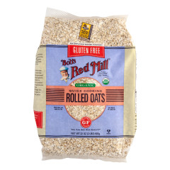 BOB'S RED MILL ORGANIC GLUTEN FREE ROLLED OATS 32 OZ BAG