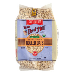 BOB'S RED MILL ORGANIC GLUTEN FREE THICK ROLLED OATS 32 OZ BAG