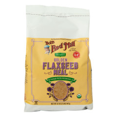 BOB'S RED MILL ORGANIC GOLDEN FLAXSEED MEAL 32 OZ BAG