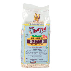 BOB'S RED MILL ORGANIC OLD FASHIONED ROLLED OATS 16 OZ BAG