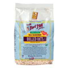 BOB'S RED MILL ORGANIC OLD FASHIONED ROLLED OATS 32 OZ BAG