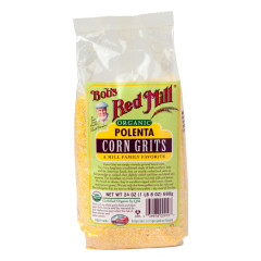 BOB'S RED MILL ORGANIC POLENTA CORN GRITS 24 OZ BAG