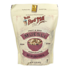 BOB'S RED MILL FRUIT AND SEED MUESLI 14 OZ POUCH