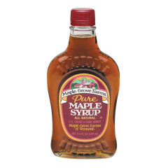 MAPLE GROVE FARMS PURE MAPLE SYRUP 8.5 OZ BOTTLE