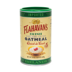 FLAHAVAN'S IRISH OATMEAL 24 OZ DRUM