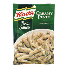 KNORR CREAMY PESTO PASTA SAUCES 1.2 OZ PACKET