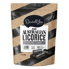 DARRELL LEA ORIGINAL BLACK LICORICE 7 OZ PEG BAG