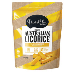 DARRELL LEA MANGO LICORICE 7 OZ PEG BAG