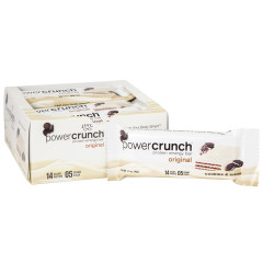 POWER CRUNCH ORIGINAL COOKIES & CREAM 1.4 OZ BAR