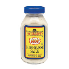 BOOKBINDER'S HOT HORSERADISH SAUCE 9.5 OZ JAR