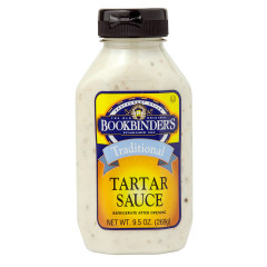 BOOKBINDER'S TARTAR SAUCE 9.5 OZ BOTTLE