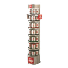 ILLY METAL DISPLAY RACK