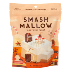SMASHMALLOW ROOT BEER FLOAT MARSHMALLOWS 4.5 OZ POUCH