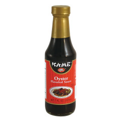 KAME OYSTER SAUCE 7 OZ BOTTLE