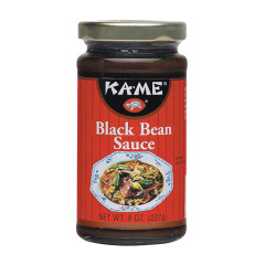KAME BLACK BEAN SAUCE 8 OZ JAR