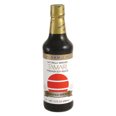 SAN J REDUCED SODIUM TAMARI SAUCE BOTTLE