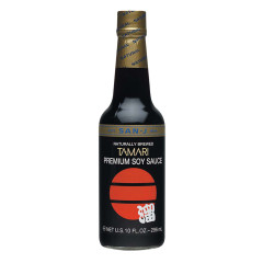 SAN J BLACK LABEL TAMARI SAUCE 10 OZ BOTTLE